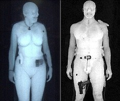Body scanners can see through passengers' clothes