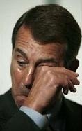Boehner - A lot of chopped onions went into legislative win.