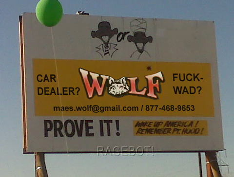 Wolf Auto - Car dealer or fuckwad?